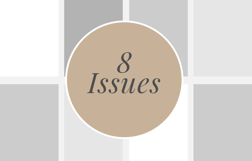 8 Issues